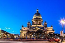 Рождество в Санкт-Петербурге